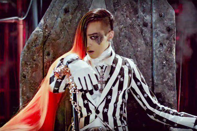 18 Male K Pop Idols Who Can Pull Off Long Hair Dragon Halloween Costume G Dragon G Dragon Hairstyle