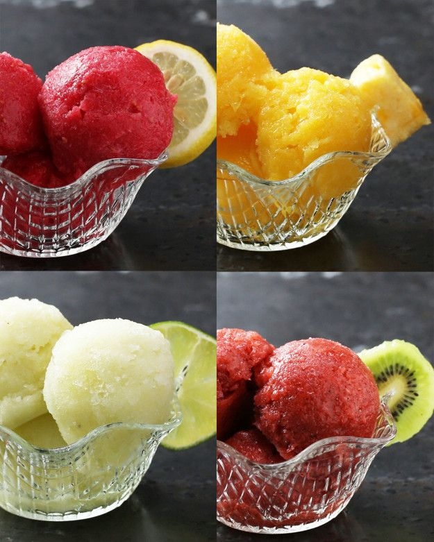 Sorbet Four Ways | Here's Four Delicious Sorbet's That You Need To Be Making This Summer
