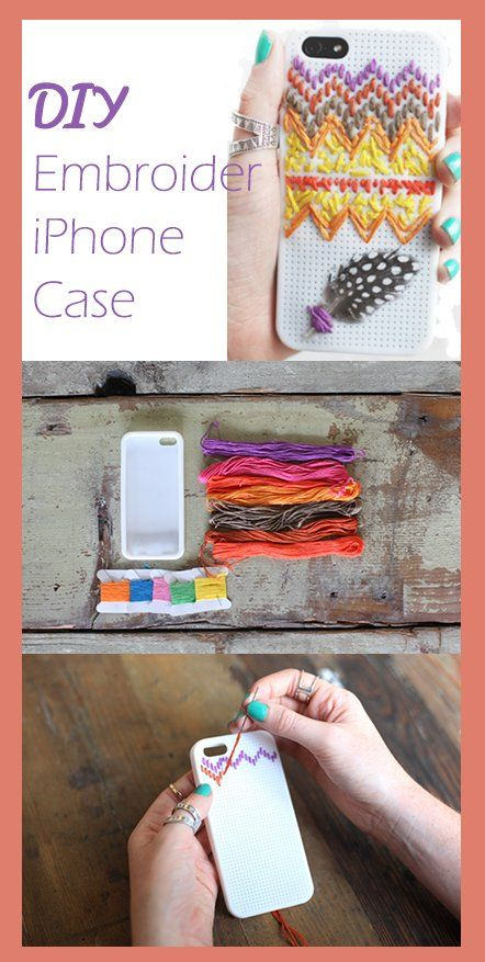 DIY Embroider iPhone Case (Free People)