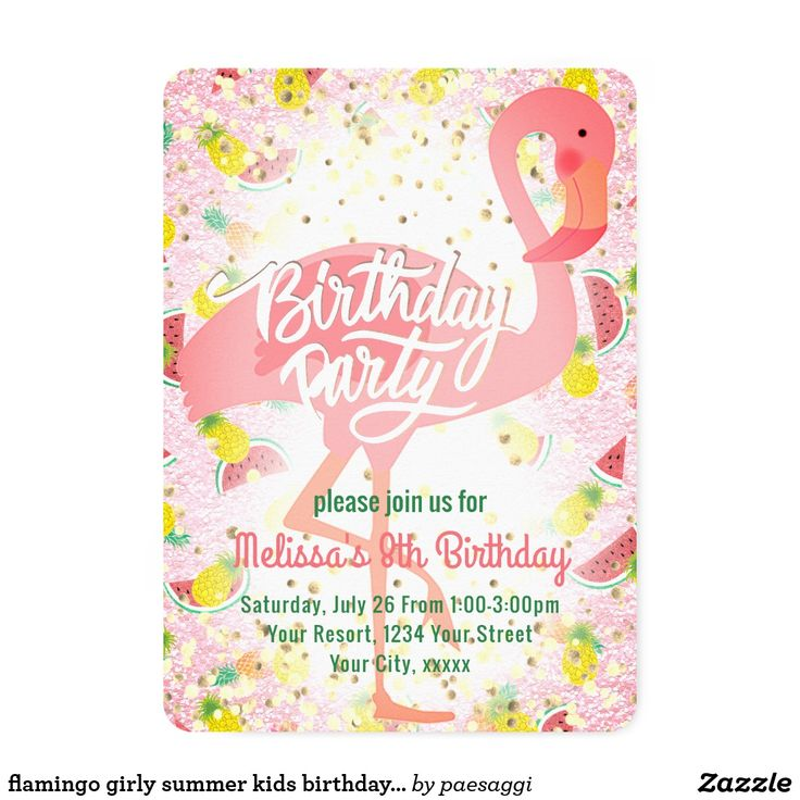 1551 best Kids 2-12 Birthday Invitations images on Pinterest