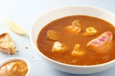 Un plat traditionnel - La bouillabaisse