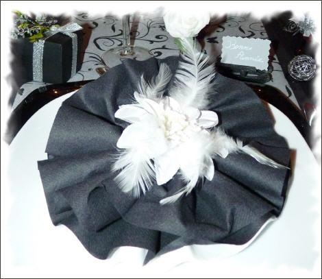 Pliage rond mariage pinterest pliage anniversaire maman et theme musique - Pliage serviette papier 2 couleurs pour anniversaire ...