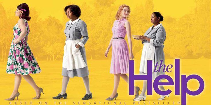 """Movie """" The Help"""" được chuyển thể từ cuốn tiểu thuyết ăn khách cùng tên của nữ nhà văn Kathryn Stockett. Bộ phim này nói đến giai đoạn đầu thập ky 60, khi nạn phân biệt chủng tộc diễn ra ở Mỹ. Khi xem bộ phim này bạn có thể dễ dàng nhận thấy phong cách thời trang của phụ nữ vào những năm này. Đồng thời có rất nhiều bối cảnh thể hiện về sự ăn mặc của tầng lớp quý tộc, mặc trang phục ntn? mái tóc? Tôi nghĩ đây là bộ phim hay và đáng để xem"""