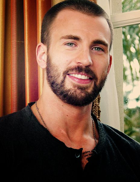 Chris Evans with his short cropped hair and sexy smile is a dead ringer for the bad-boy hero of Hot Zombie, Callum West.