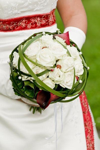 Wunderschöner Brautstrauß für eine großartige Hochzeitsfeier.