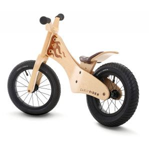 Offside rear view of the Early Rider Classic balance bike