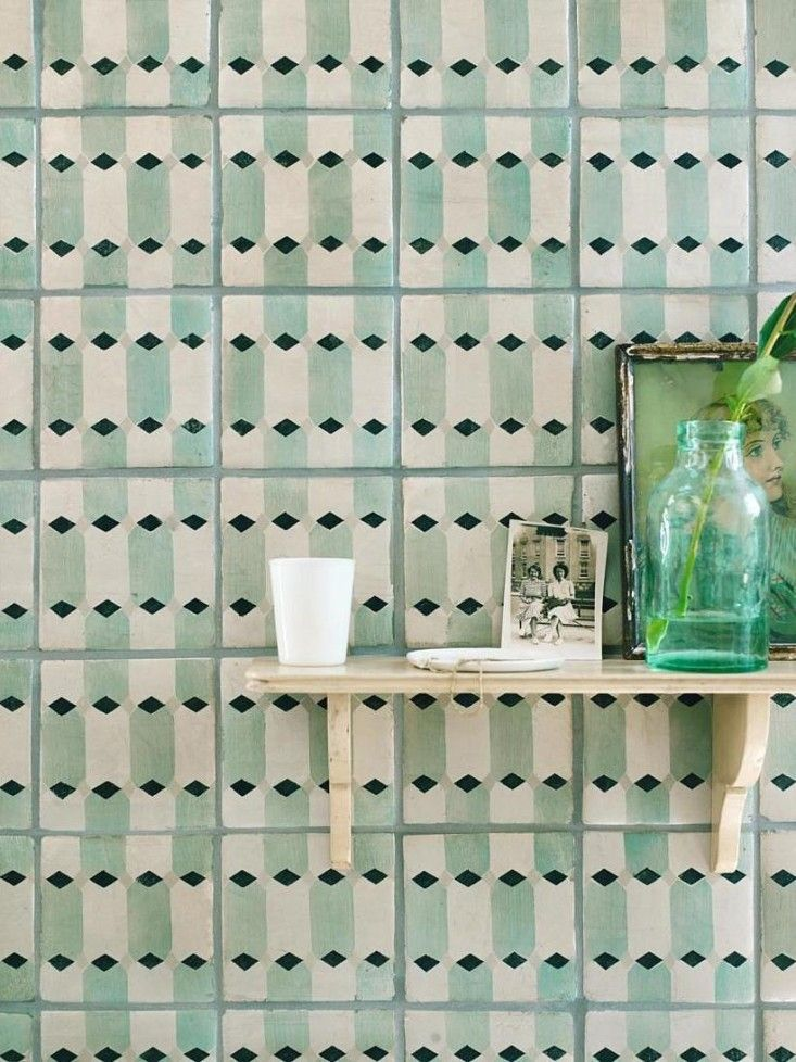 Neisha Crosland for Fired Earth Tiles | Remodelista