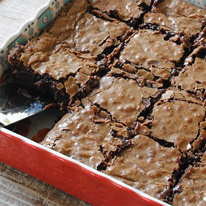 Chocolate protein brownies
