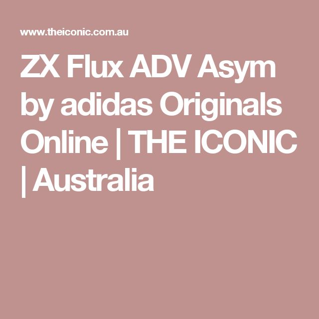 ZX Flux ADV Asym by adidas Originals Online   THE ICONIC   Australia