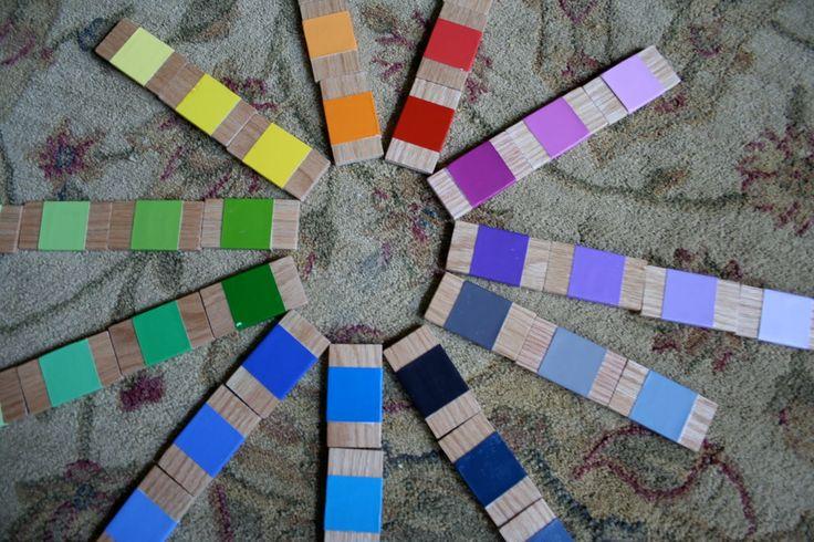 DIY Color Box 3 Variation (Photo by MaryLea at Pink and Green Mama)
