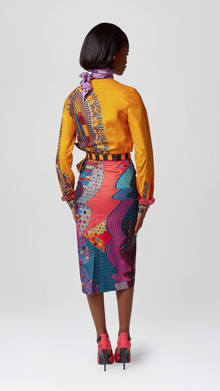 ELEGANCE MEETS EDGE | Vlisco V-Inspired
