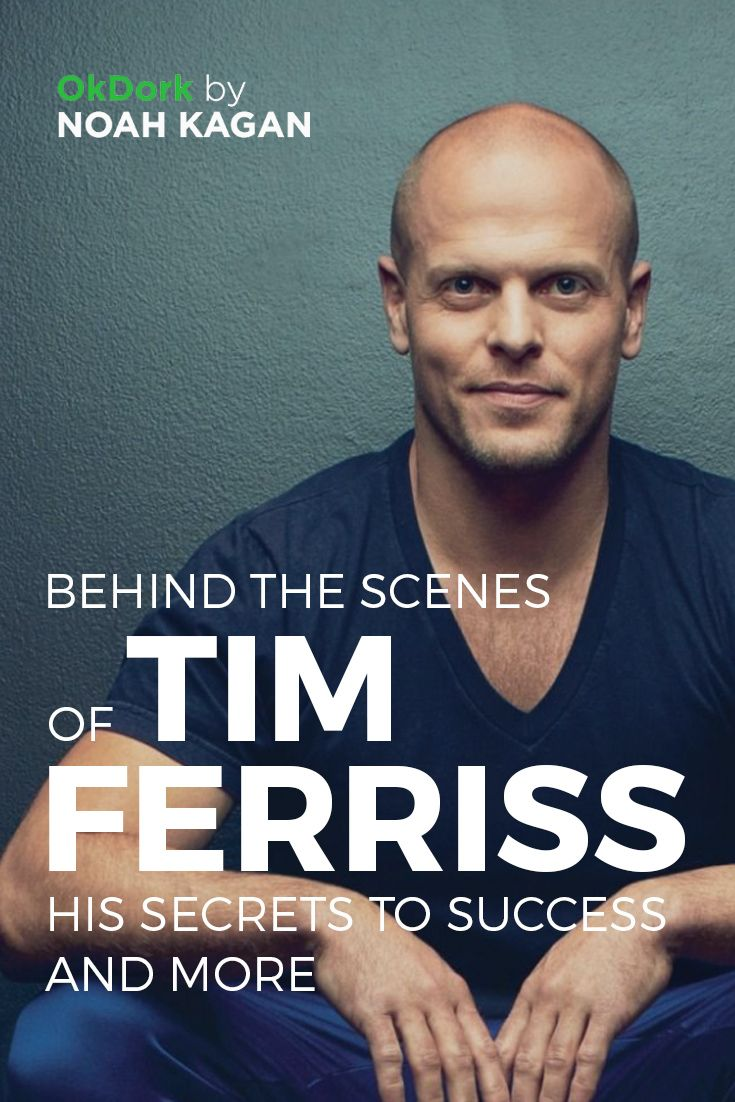 Behind the scenes of Tim Ferriss - his secrets to #success and more #podcast