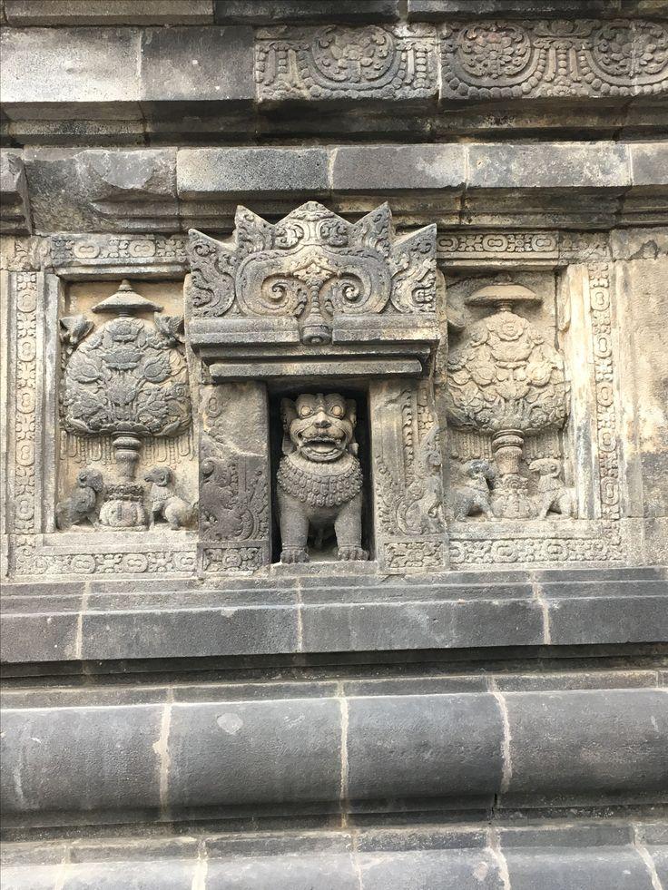 Relief at Hindu Prambanan temple .... Jogjakarta