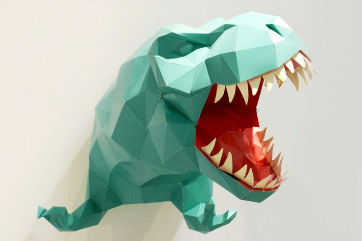 Homi-design-dino-dinosauro-happypaper-paperanimal-dinosauro-green-dewema-valeriacrispo