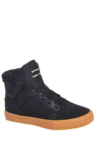Supra Men s Skytop Black Gum Sneaker Men s 9 79ef23fb04
