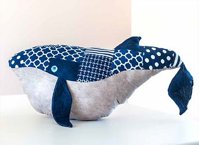 Download Wesley the Very Big Whale free pattern from Windham Fabrics