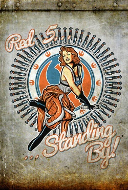 Red 5 Standing By!  Star Wars Pin-Up Girls
