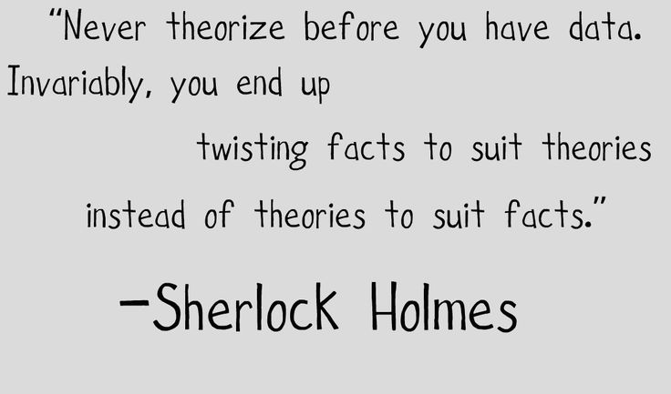 sherlock holmes quotes - Google Search