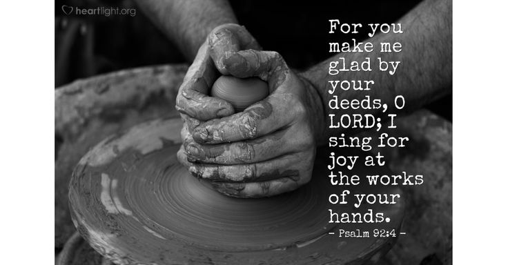 Verse of the Day - Psalm 92:4
