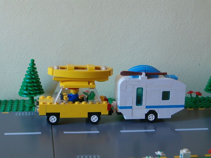 Amazing Believe I Ve Yet To See A Lego Camper Rv Or Travel Trailer Set I