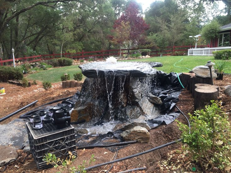 Tabletop Rock Fountain