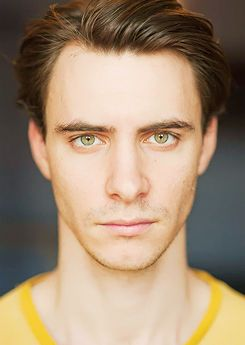 Harry Lloyd those eyes and the fact he was on doctor who...