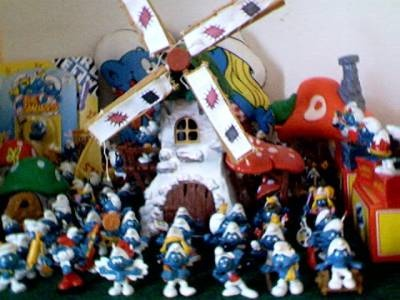 Smurfs from Germany.