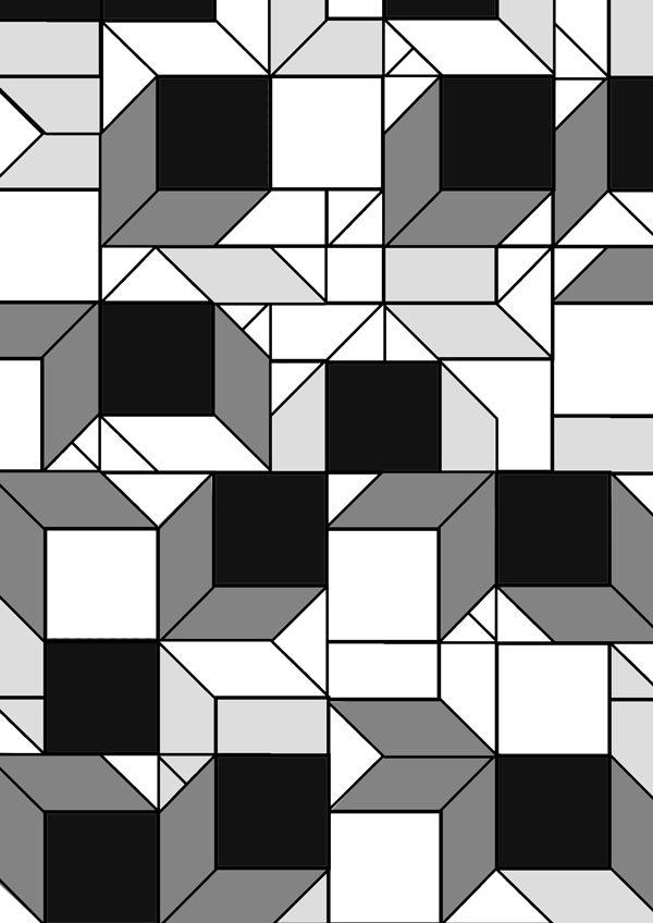 design by MiReeKim. Geometry patten Basic Structure 형태의 기본적인 구조를 가지고 만들어본 기하학적 패턴입니다.