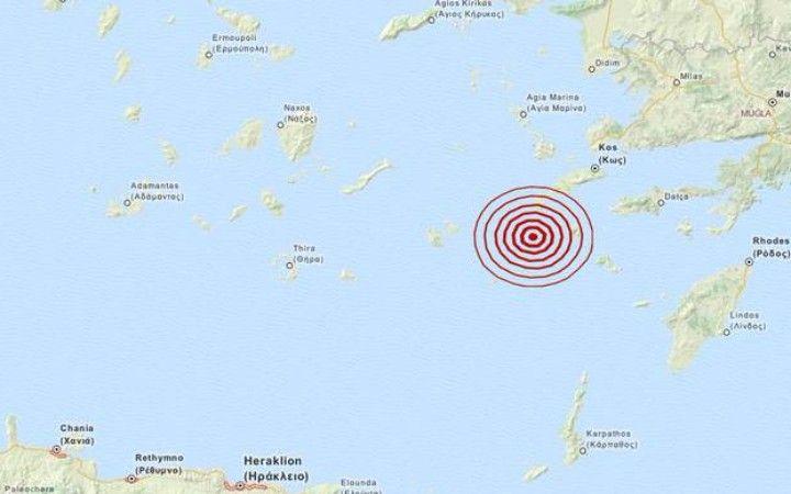 Σεισμός 4 Ρίχτερ δυτικά της Νισύρου