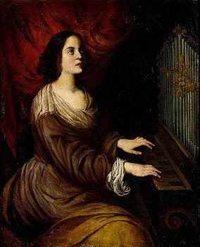 St Cecilia by Andrea Vaccaro