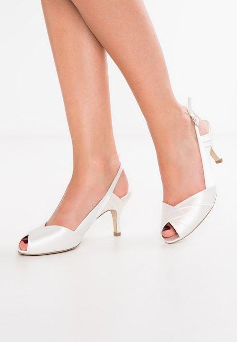 d55be63dfe0d96 CECILIA - Peeptoe - ivory @ Zalando.at 🛒 | Chaussures | Ivory ...