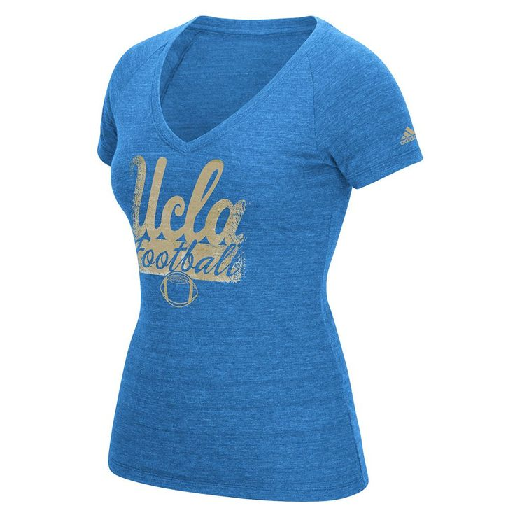 Women's Adidas Ucla Bruins Football Tee, Size: Medium, Blue