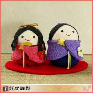 可愛い手作り雛人形