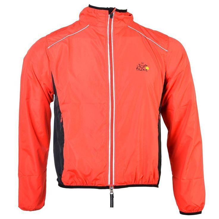 RockBros Tour de France Ciclismo Rompevientos Chubasqueros Rojo (XL)