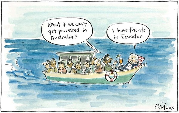 Sunday, August 19, 2012. Illustration: Cathy Wilcox