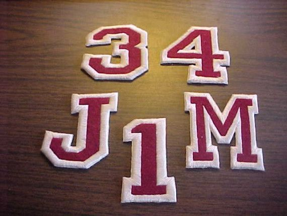 Monogram Embroider 3 inch Patch Sew On or Iron On by flamingosews, $4.00