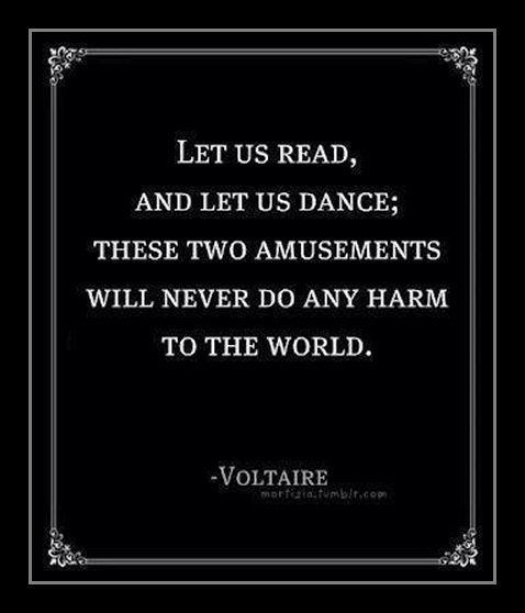 Read and Dance!!! ↜(˘◡˘)↝ I can do that!!!