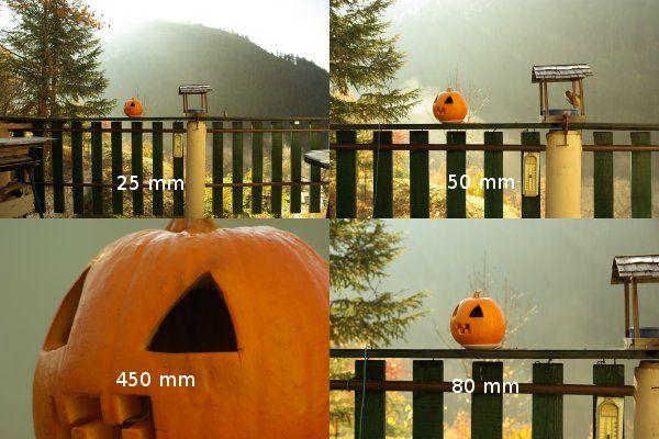 La distance focale : 28, 35, 200 mm ?