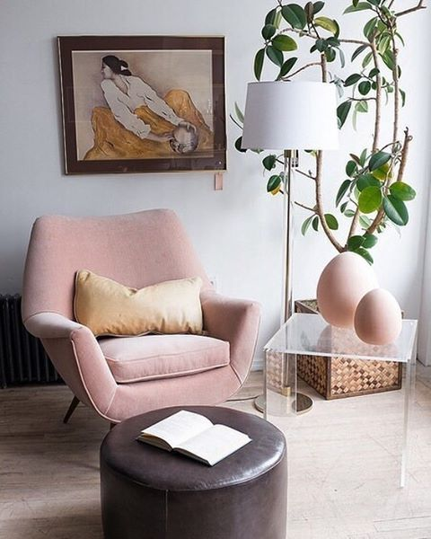 """11.5k Likes, 103 Comments - Apartment Therapy (@apartmenttherapy) on Instagram: """"We're loving the look of beautiful blush accents in the home. Click the link in our bio to shop…"""""""