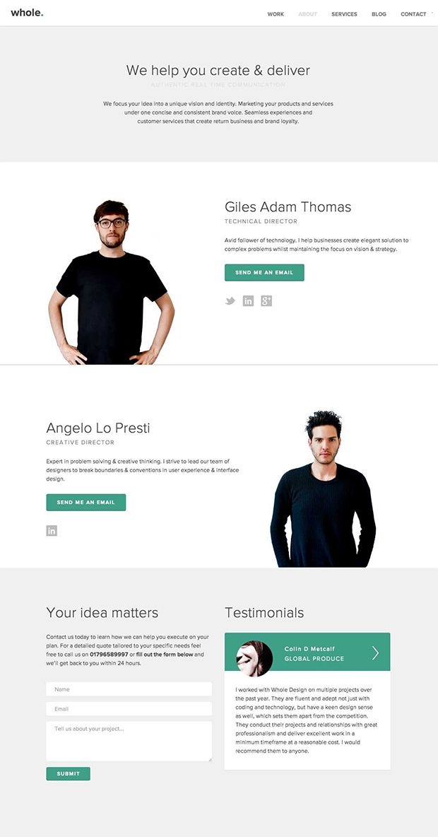 I like this layout Design is cool for a presentation or proposal - program proposal template