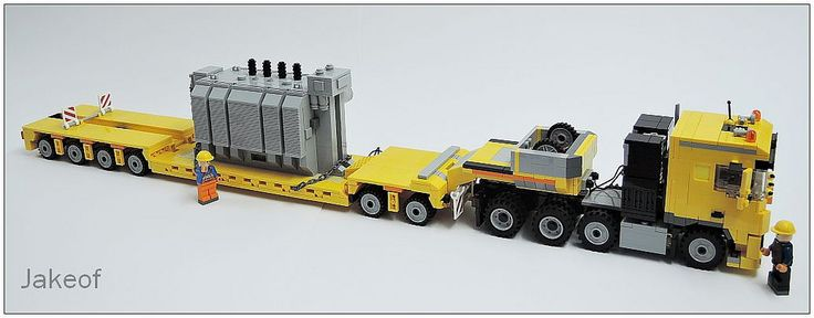 lego technic truck trailer instructions