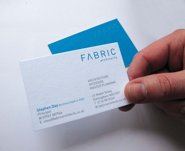 84 best business cards images on pinterest business cards carte the business cards were printed on a duplexed stock gf smith pritsine white one side and tabriz blue on the other printed 2 colour litho one side and colourmoves