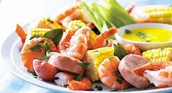 Summer seafood menu inspired by the Maritimes