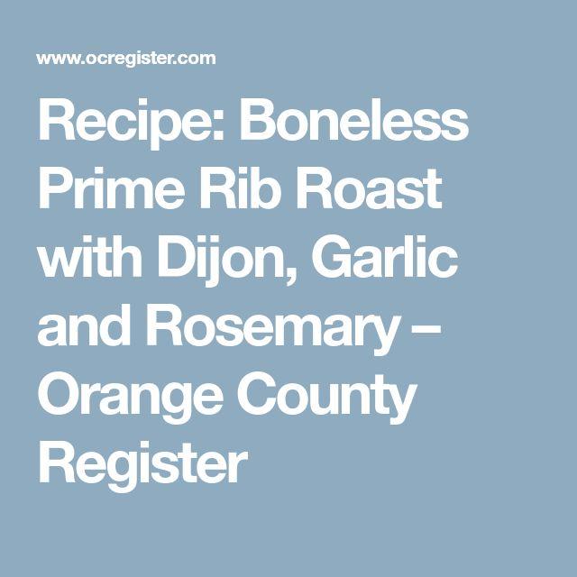 The  Best Boneless Prime Rib Roast Ideas On