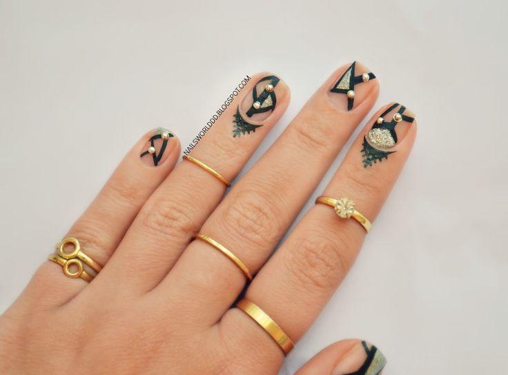 12 Tatuajes de cutículas para usar en la temporada 2016 | Decoración de Uñas - Manicura y Nail Art