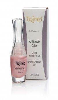 Trind Nail Repair Pink Pearl Healthy, strong nails in just two weeks. TRIND Nail Repair Pink Pearl is a unique nail strengthener. Compared to most nail hardeners that are available, TRIND Nail Repair creates a perfect balance between the percentages of keratin and moisture in the nail, making the nail both strong and flexible. http://www.trind.com/products/trind-nail-repair-pink-pearl