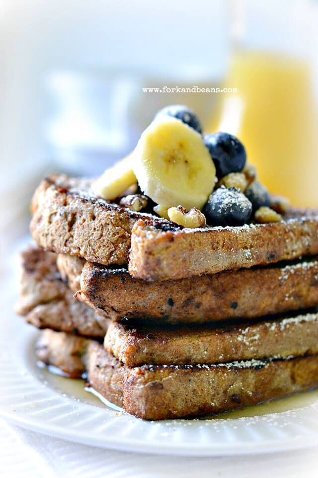 Gluten-free French toast | Delicious Delights | Pinterest