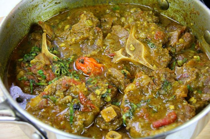 You probably love curry goat, curry chicken and heard of curry turkey neck, but have you tried 'Curry Oxtail'? Most meats, if not all, can curried, but have tried Oxtail? Chris De La Rosa from Caribbean Pot shares his Ultimate Curry Oxtail recipe. We've never heard of this 'Curry Oxtail' before, but it sure sounds interesting and looks delicious. Using a curry cooking method from Trinidad and Tobago, Chris prepares a curry base before the seasoned oxtail pieces are slowly ...
