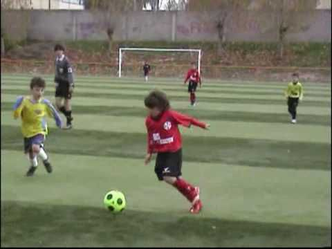 Messi con 10 años