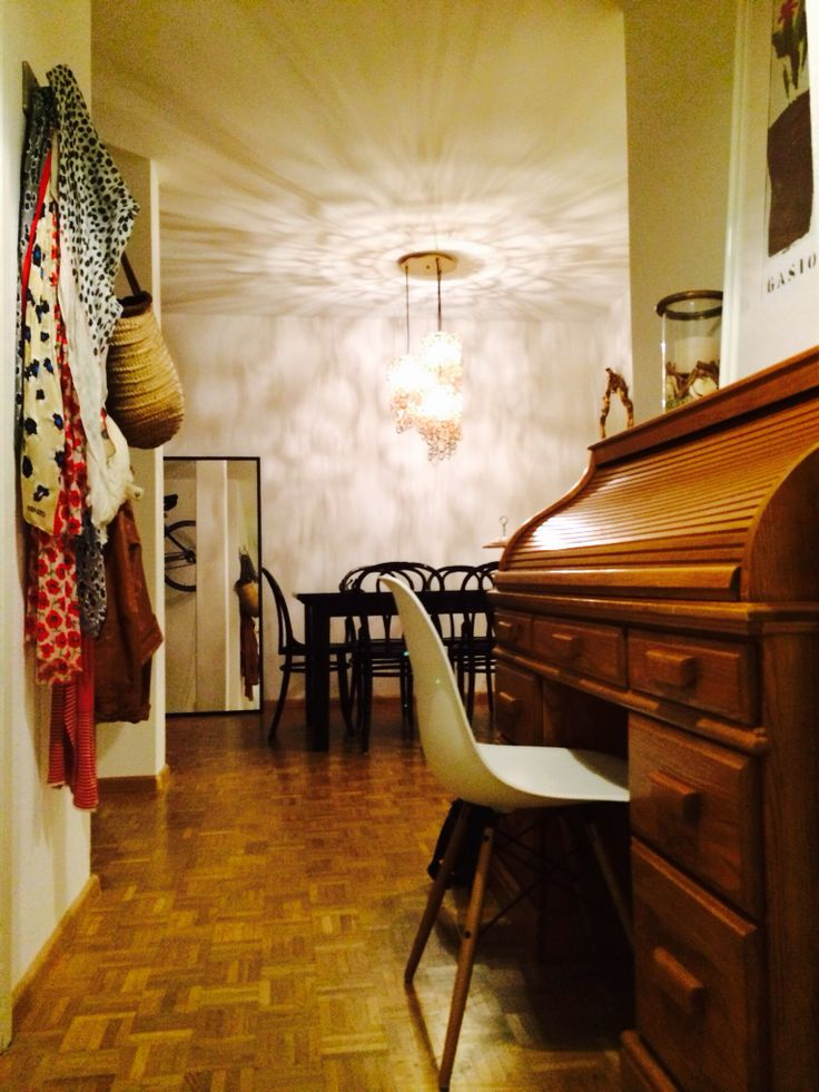 Hall with Eames chair